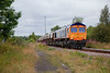 66731 at Pools Lane Royston with the 6E84 08:20 Middleton Towers to Monk Bretton on 29th July 2014