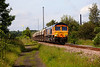 66710 passing Pools Lane Royston with the 6E84 Middletonn Towers to Monk Bretton on 19th June 2014