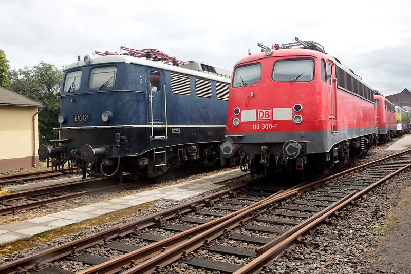 E10-120 & 110-300 at Koblenz Lutzel Museum 13th June 2015