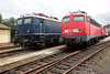 E10-120 & 110-300 at Koblenz Lutzel Museum 13th June 2015