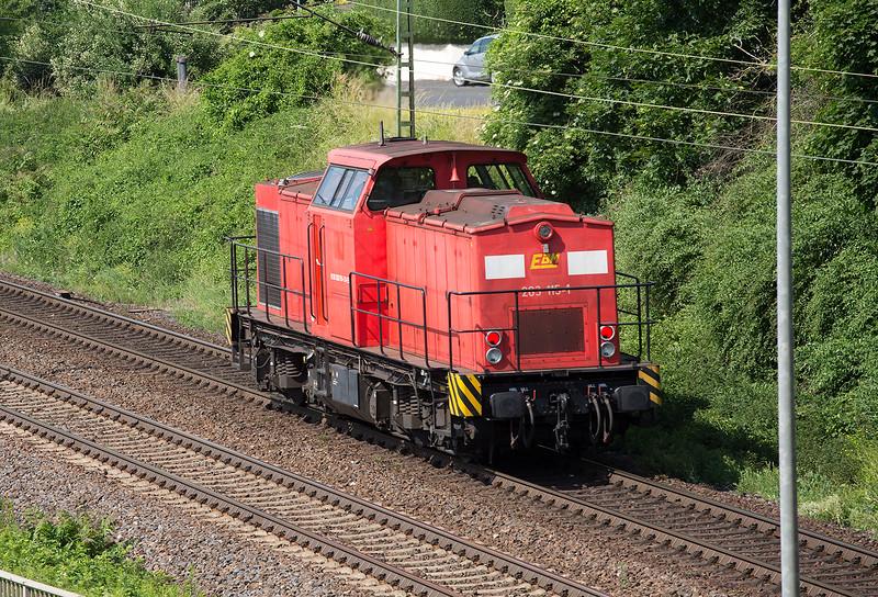 203-225 rumbles north light at Linz 13th June 2015