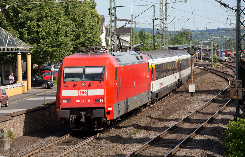 101-141 departs Remagen with a Northbounf IC on June 14th 2015