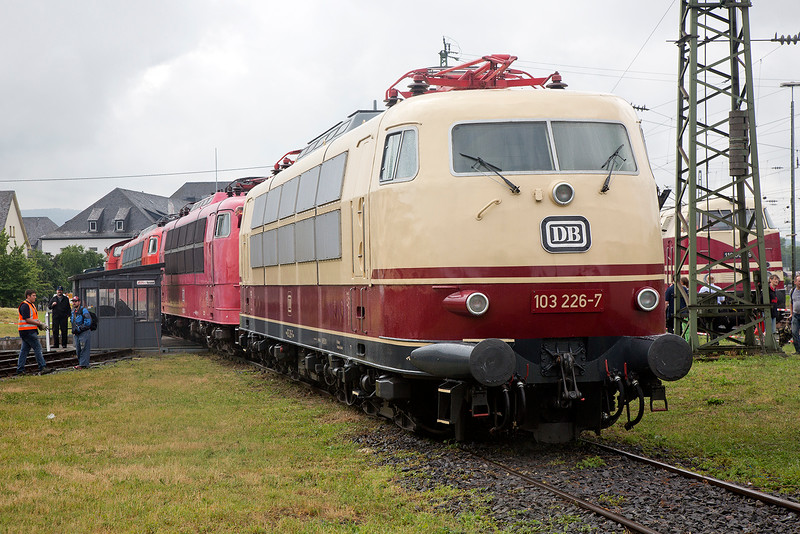 103226 in the wet at Lutzel Museuem Koblenz 14/6/2015