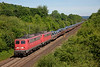 140850+140837 haul a very heavy 60305 from Oberhausen West to Andernach loaded Steel train out of Remagen on june 14th 2015