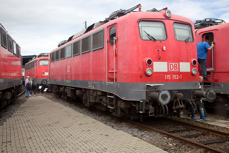 115-152 at Koblenz Lutzel on 13th June 2015