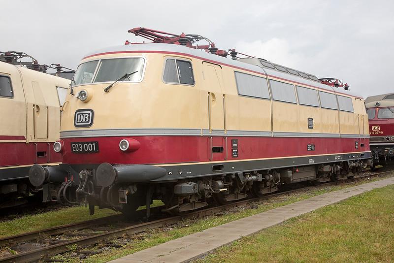 E3-001 stands at Koblenz Lutzel Museum 13/06/2015
