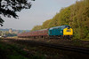 """40145 whistling nicely as she departs Mirfield with the1Z49 06:00 Bury to Stratford upon Avon """"The East Lancs Firebrand"""" on 01/10/16.  She sounded awesome when she opened up after getting the feather at Mirfield East Jcn!!"""
