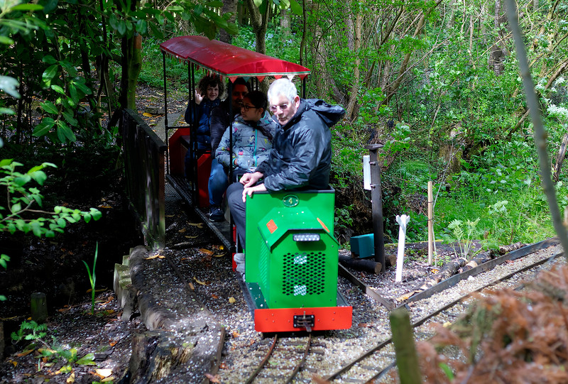 Hunter - Churwell Woodland Railway - 27/4/2019