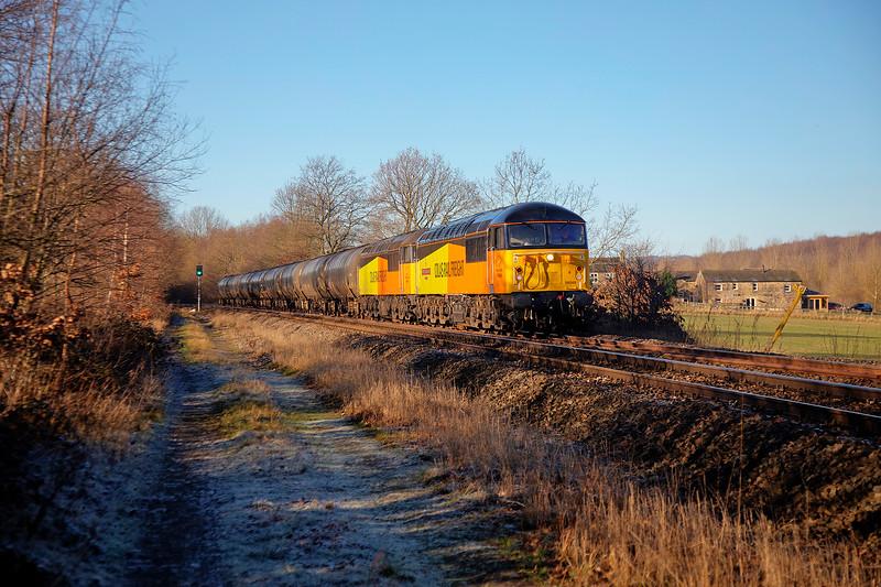 56049+56090 - Bradley Wood Junction  - 23/1/2019
