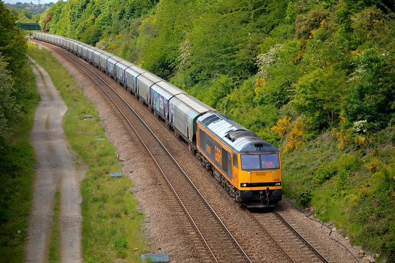 60095 - Dewsbury East Junction - 15/5/2020