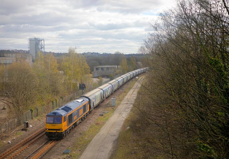 60002 - Dewsbury East Junction - 7/04/2021