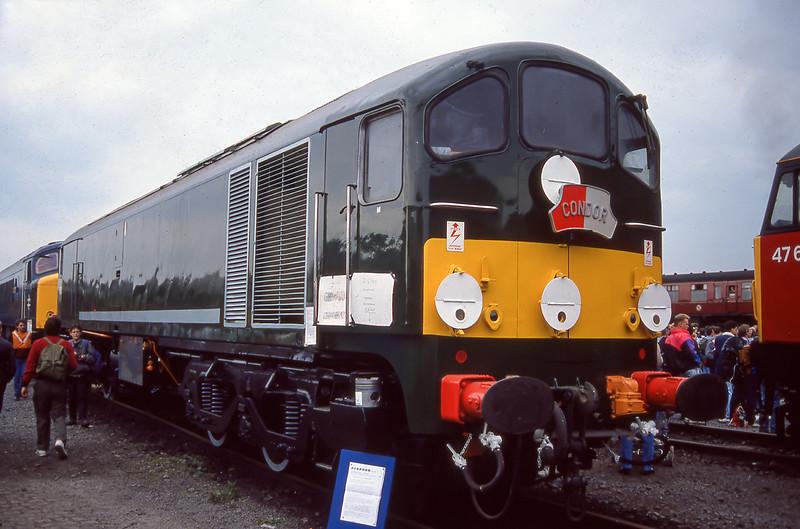 D5705 - Coalville 25/01/1991