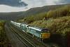 45005 55022 - Between Marsden and Slaithwaite - 4/11/81