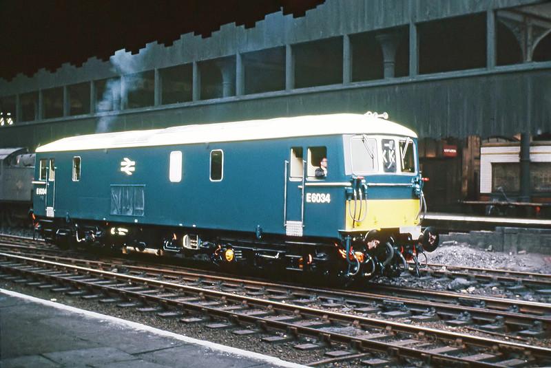 E6034 - Manchester Victoria - 2/6/1966