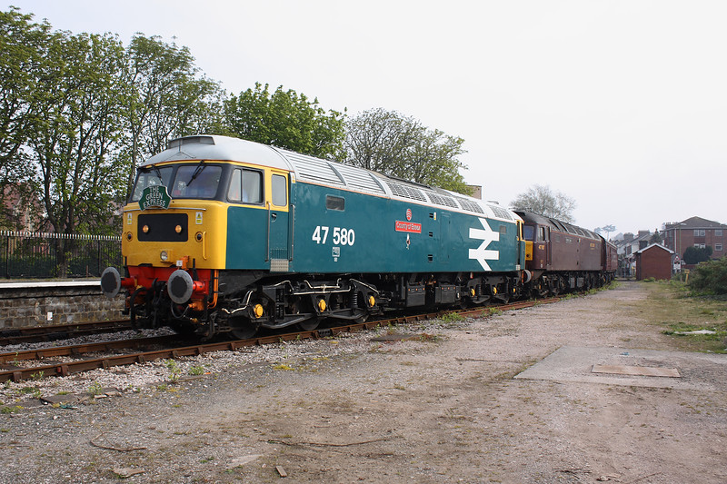 47580+47787 - Paignton 24/4/2010