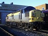 37351 stands outside HM shed 02-01-99