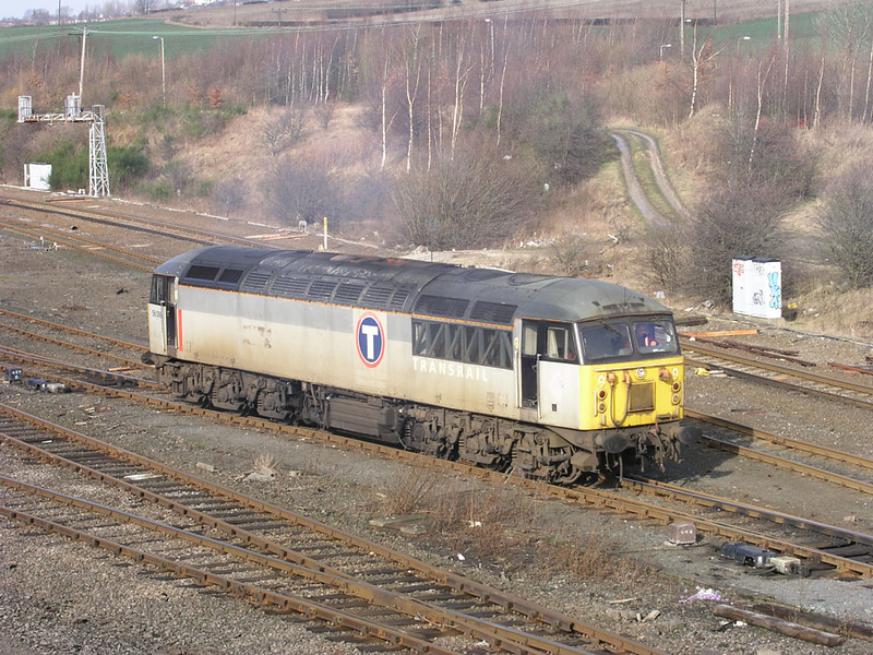 56099 idles in HM yard 11-02-03