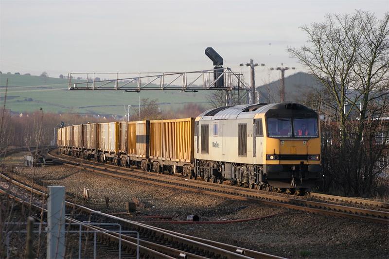 60074 - Mirfield East Junction 29/11/04