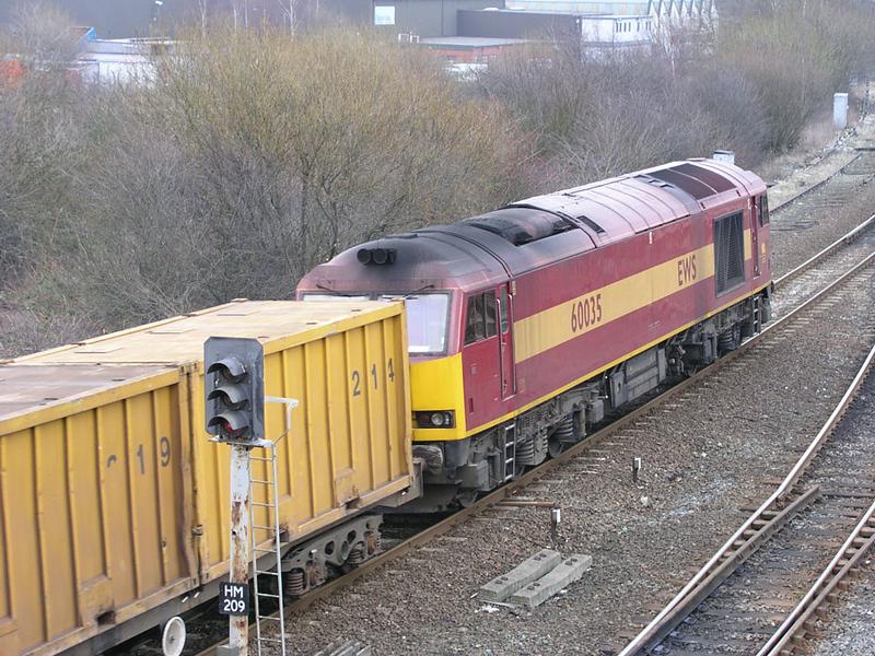 60035 - Healey Mills - 27/01/2003