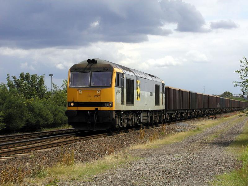 60057 - Dewsbury East Junction - 26/02/2002