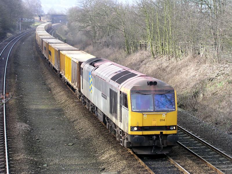 60014 - Mirfield East Jcn - 28/02/2003