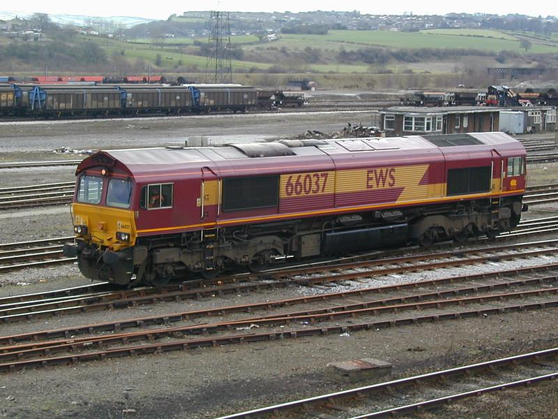 66037 in between duties at HM 3rd April 2001