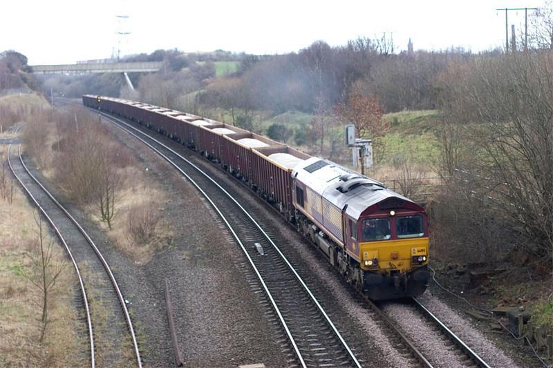 66195 6D48 Rhylstone to Dewsbury 7th March 2005
