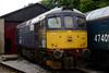 33030 dumped at Oxenhope after being declared a failure on 20th June 2004