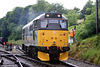 31271 runs off the 16:45 Keighley to Oxenhope on 20th June 2004