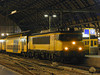 1724 awaits to depart Amsterdam C.S with a train of ECS at 23:59 9th July 2002