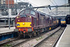 "37706+37676 departing Leeds with a 1Z83 Preston to Edinburgh ""Celtic Growler"" on March 7th 2009"