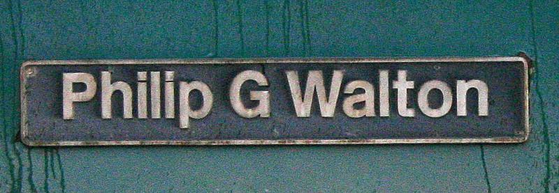 Philip G Walton - 86620 - 29/10/2003