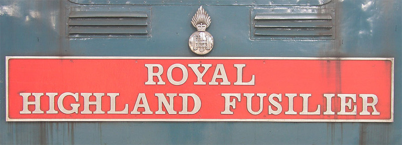 Royal Highland Fusilier - 55019 - 04/10/2003