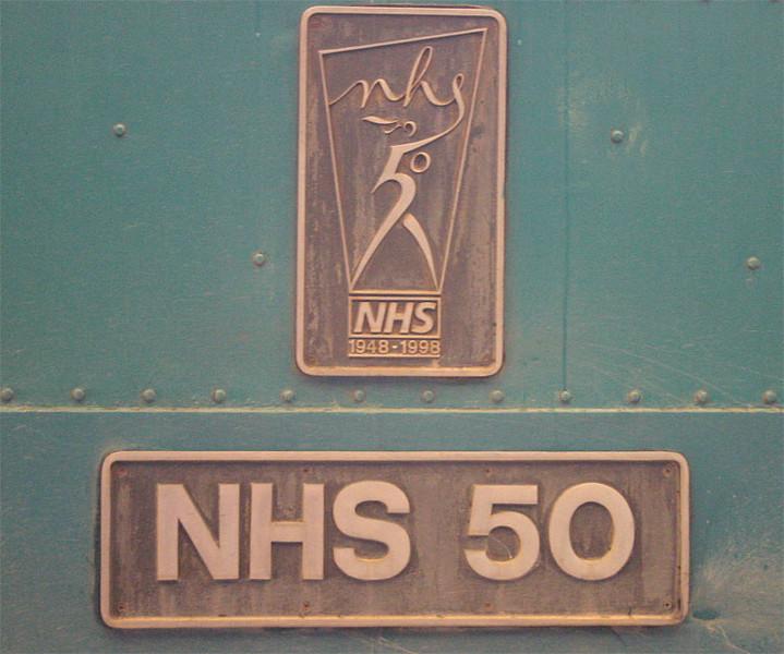 NHS 50 - 86218 -  29/10/2003