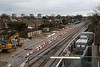 Abbey Wood-site of new Crossrail turn back sidings 25th December 2016