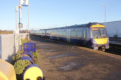 Scotrail 170409 Montrose Railway Station Nov 19