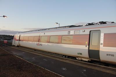 LNER 800103 Montrose Railway Station Nov 19