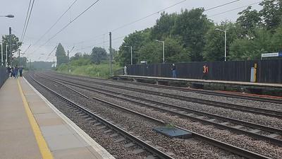 4-6-2 60103 'Flying Scotsman' passes Welham Green at 0804/1Z72 Kings Cross to York charter   19/06/21