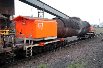 Torpedo No 67 Scunthorpe Tata Steel Works 24/11/12.