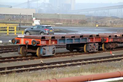 66 Series 6610 Scunthorpe Tata Steel Works 24/11/12.