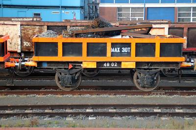 48 Series 4802 Scunthorpe Tata Steel Works 24/11/12.