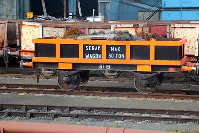 81 Series 8119  Scunthorpe Tata Steel Works 24/11/12.