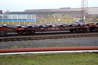 50 Series 5023 Scunthorpe Tata Steel Works 24/11/12.