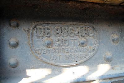Work Plate DB986480 Birkenhead 16/02/13.