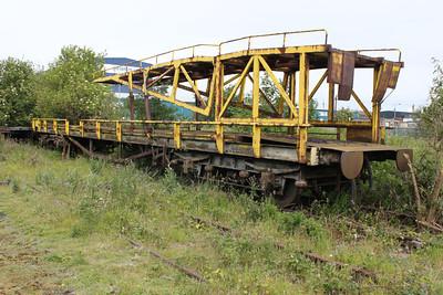 Ex Car Ramp B745855 Leith Docks  25/06/11