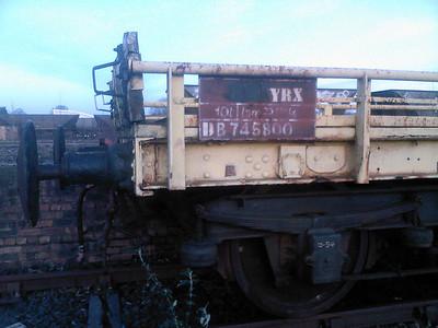 YRX DB745800 No Plate, Pert Yard 08/02/08.