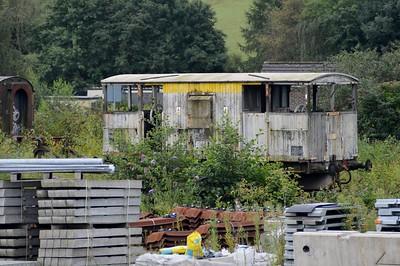 DB993840 20t Brake Van at Tavistock Junction    29/08/15
