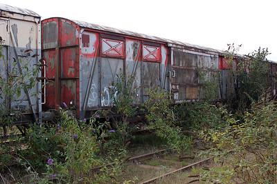 B787011 Peterborough Yard 14/08/11