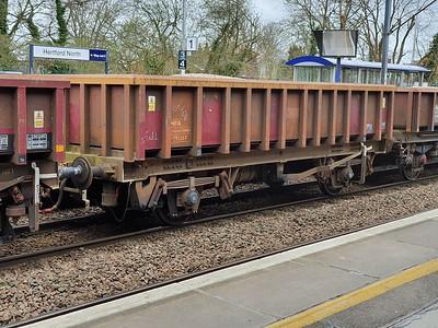 MFA 391357 seen at Hertford North  28/03/21