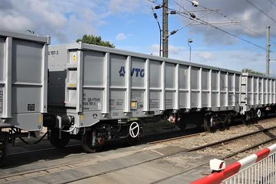 Brand new JNA 81705500787.3 seen at Mitre Bridge Jct on Dollands Moor to Wembley wagon move  02/11/20